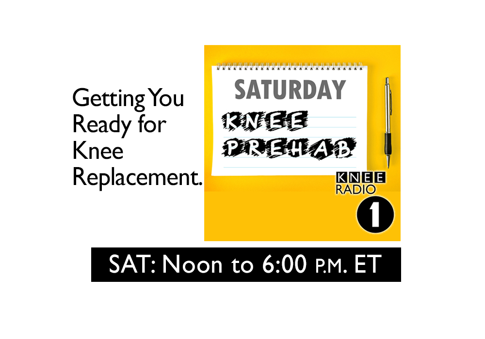 Saturday-Prehab Noon to 6:00 p.m. ET